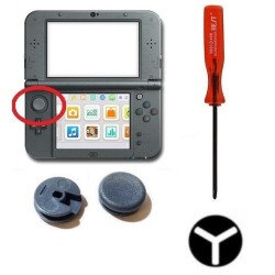 Replacement Analog Joy stick for PS Vita Black